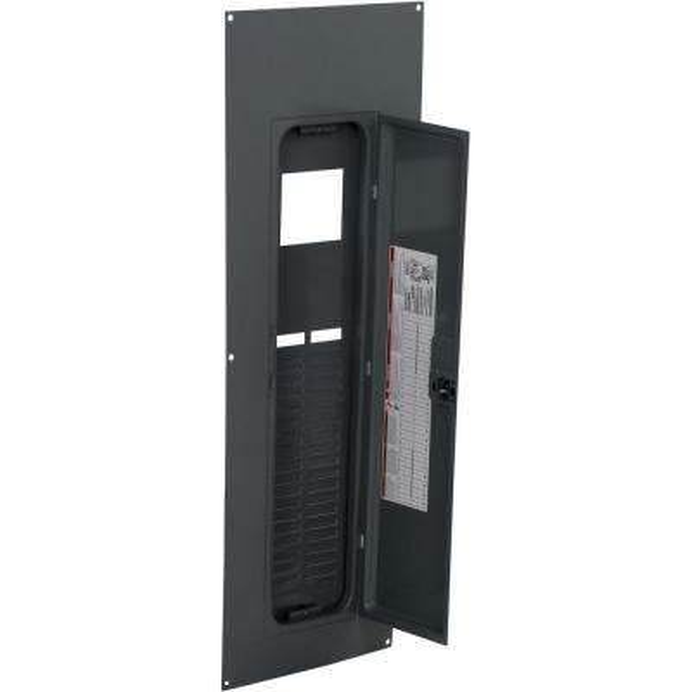 QO 42-Space 3-Phase Indoor Main Breaker Load Center Flush Cover