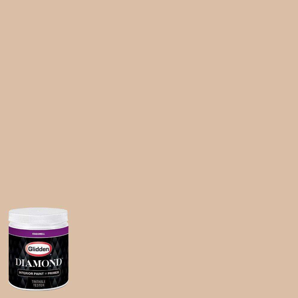 Dapper Tan Kitchen: Glidden Diamond 8 Oz. #HDGO49 Dapper Tan Eggshell Interior