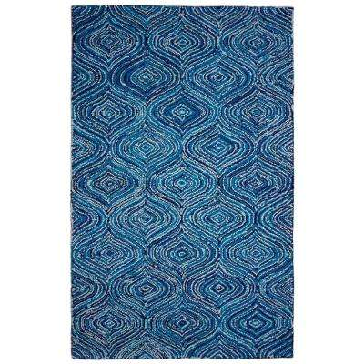 Lantern Blue Skies Blue 5 ft. x 8 ft. Area Rug