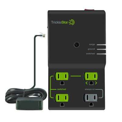 4-Outlet Advanced and Energy Saving Surge Protector