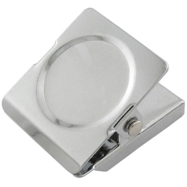 1.375 in. x 1.125 in. Small Square Magnetic Clips (4-Pack)