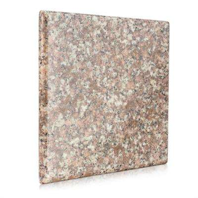 0.75 in. x 7.75 in. Granite Trivet in Brown