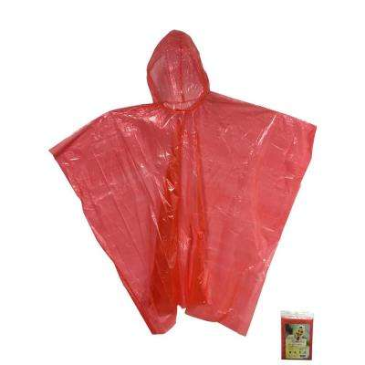 Kingstate Quick Cover Poncho in Red