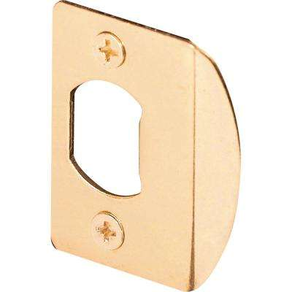 Brass Standard Residential Strike Plate