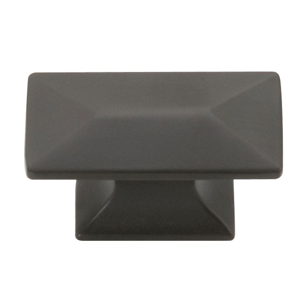 Hickory Hardware Bungalow 1 In. Oil Rubbed Bronze Cabinet Knob