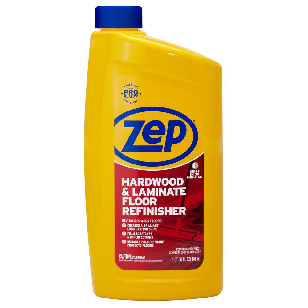 Zep 32 Oz Hardwood And Laminate Floor Refinisher Zuhfr32