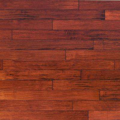 Take Home Sample - Scraped Vintage Maple Ginger Engineered Click Hardwood Flooring - 5 in. x 7 in.