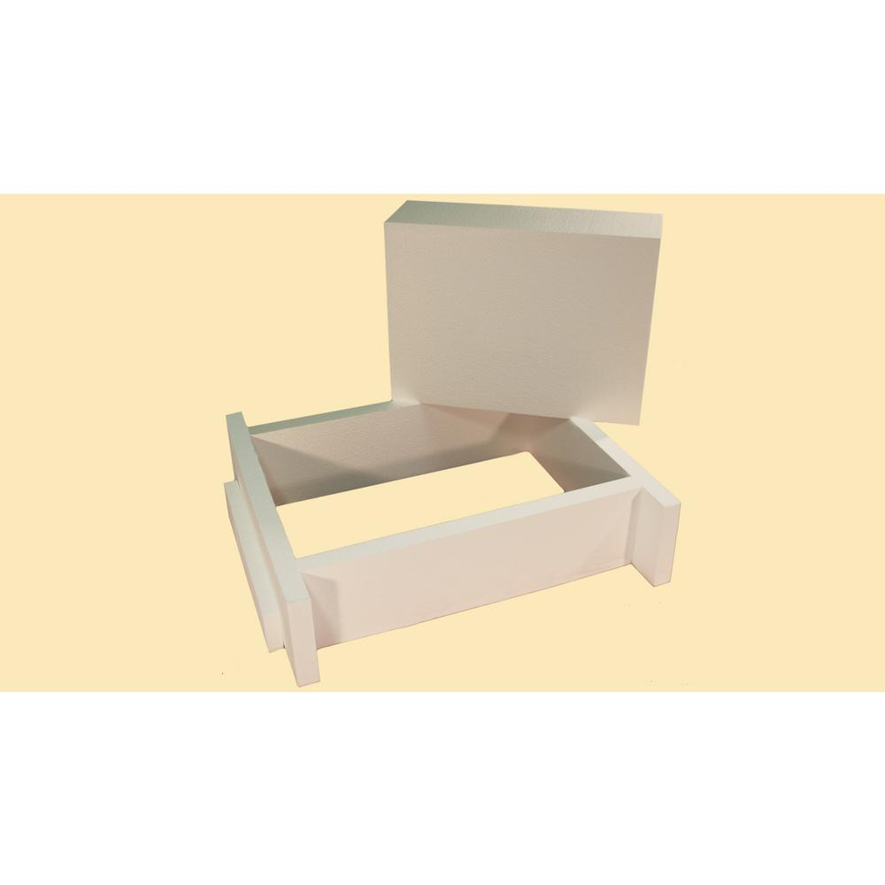 The Energy Guardian R-38 Universal Attic Hatch - Scuttle Hole Insulation Cover