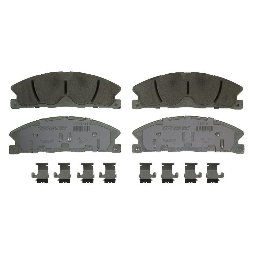 Wagner Brake Disc Brake Pad Set-OEX1611 - The Home Depot