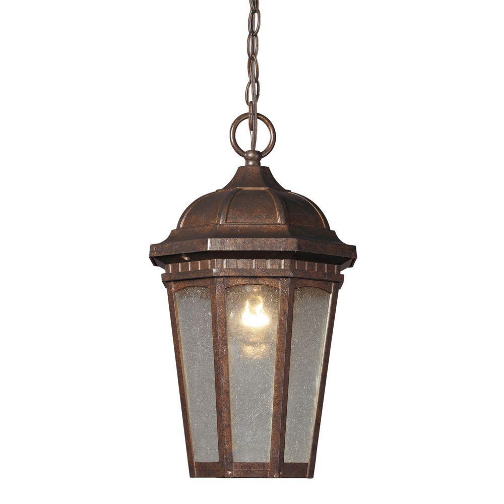 titan lighting ceiling mount 1 light outdoor hazelnut