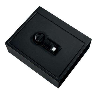 0.17 cu. ft. Steel Personal Safe with Biometric Lock, Black