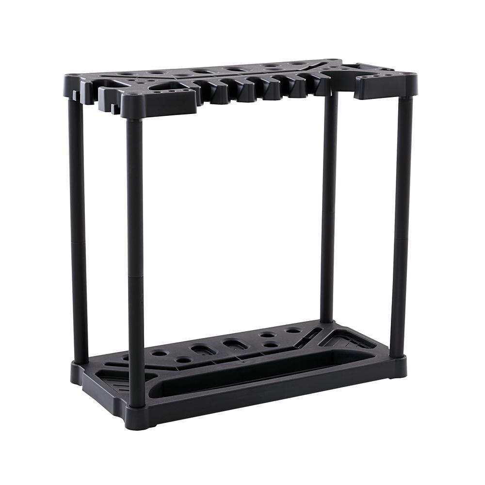 35.5 in. Long or Short Handled Tool Storage Rack Organizer