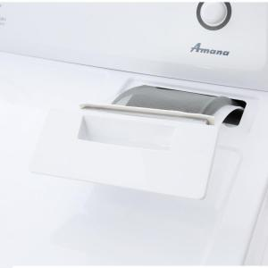 white amana electric dryers ned4655ew 66_300 amana 6 5 cu ft 240 volt white electric vented dryer with wrinkle