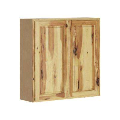 Madison Assembled 36x36x12 in. Wall Cabinet in Hickory