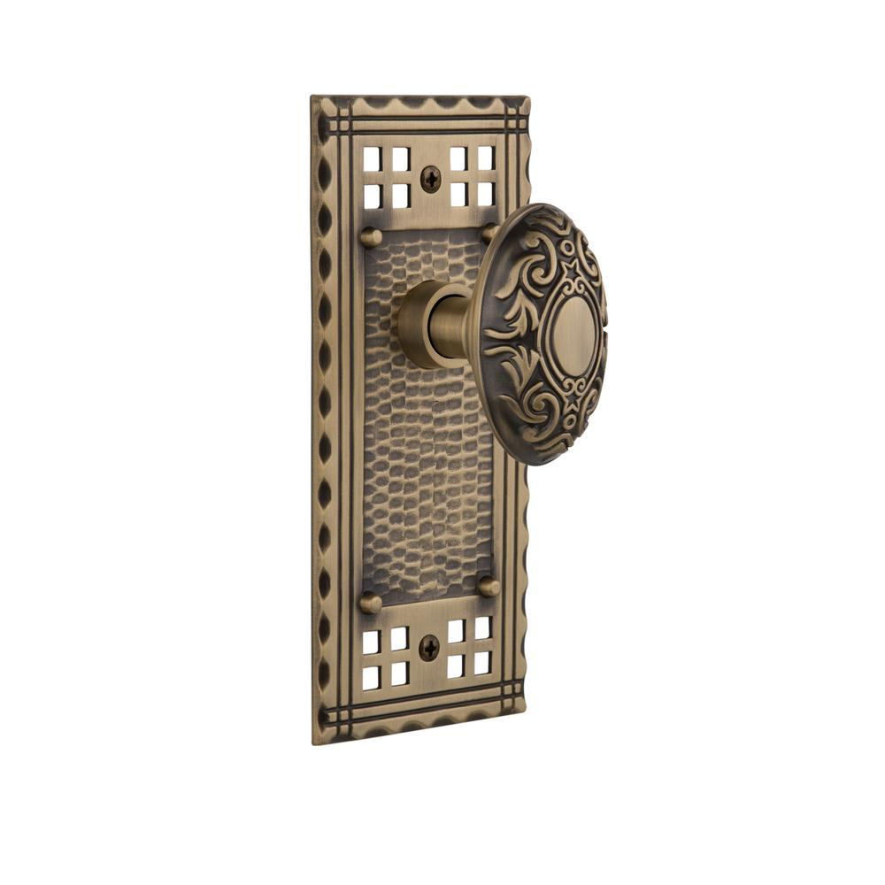 Nostalgic Warehouse Victorian Plate Double Dummy Chateau Door Knob ...