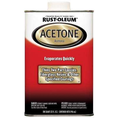 1-qt. Acetone (Case of 4)