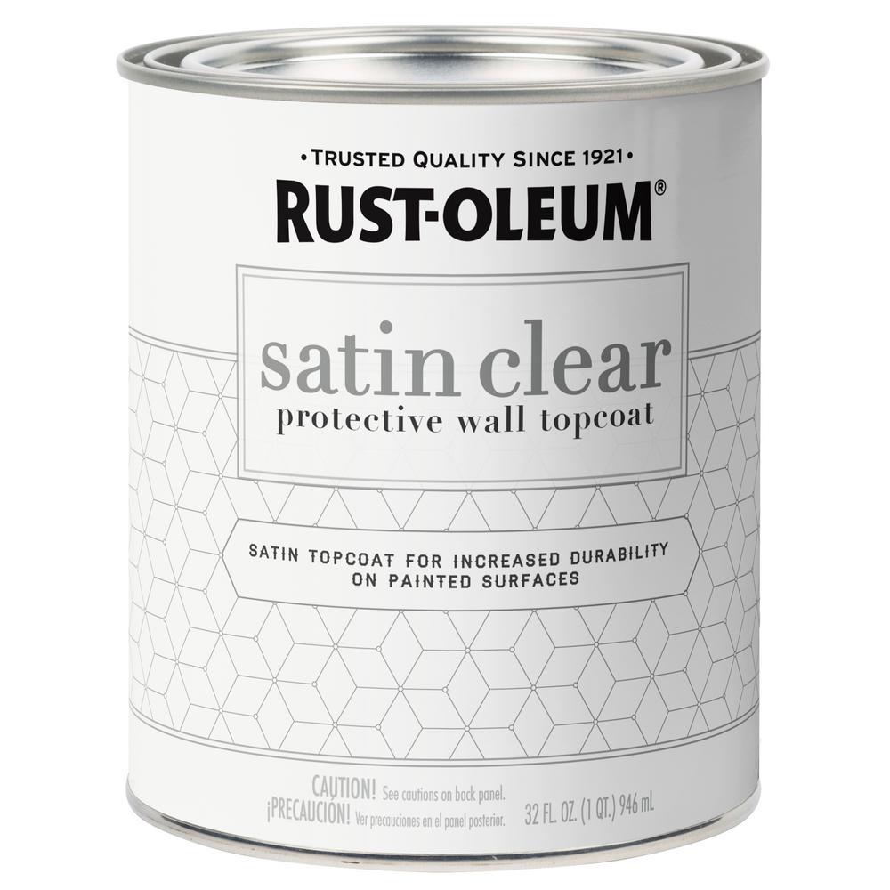1 Qt. Clear Decorative Wall Top Coat (2-Pack)