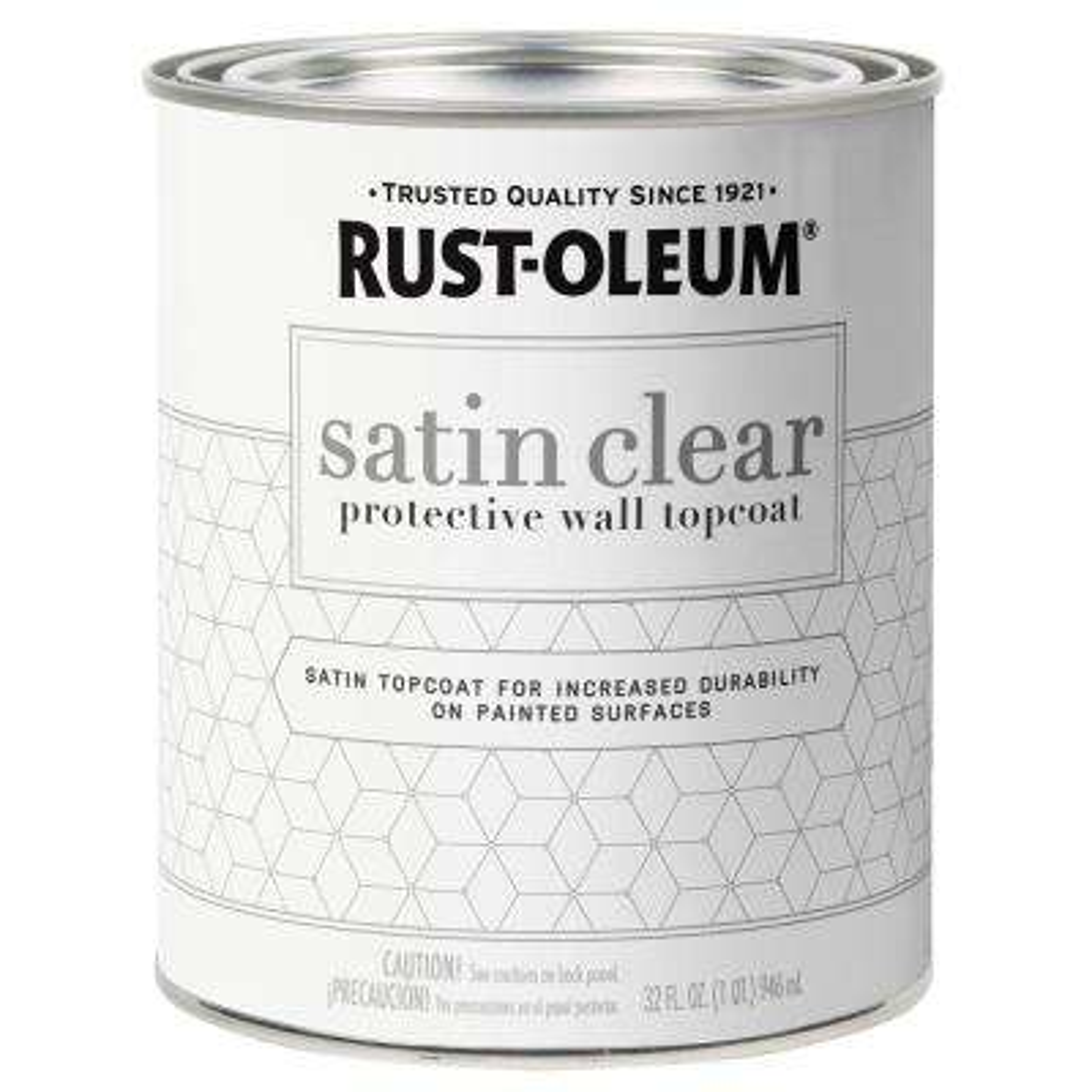 1 qt. Satin Clear Protective Wall Topcoat
