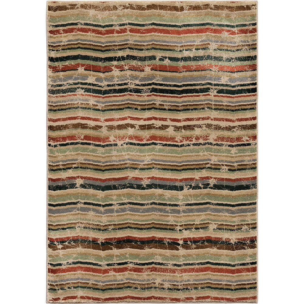 Orian Rugs Forever Wave Multi 5 Ft. 3 In. X 7 Ft. 6 In