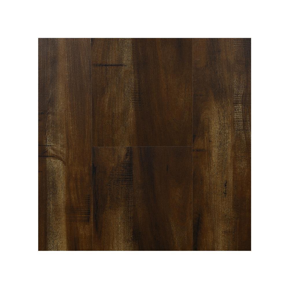 Take Home Sample - Mesquite 8 mm Laminate Flooring 7.68 in. W x 8 in. L
