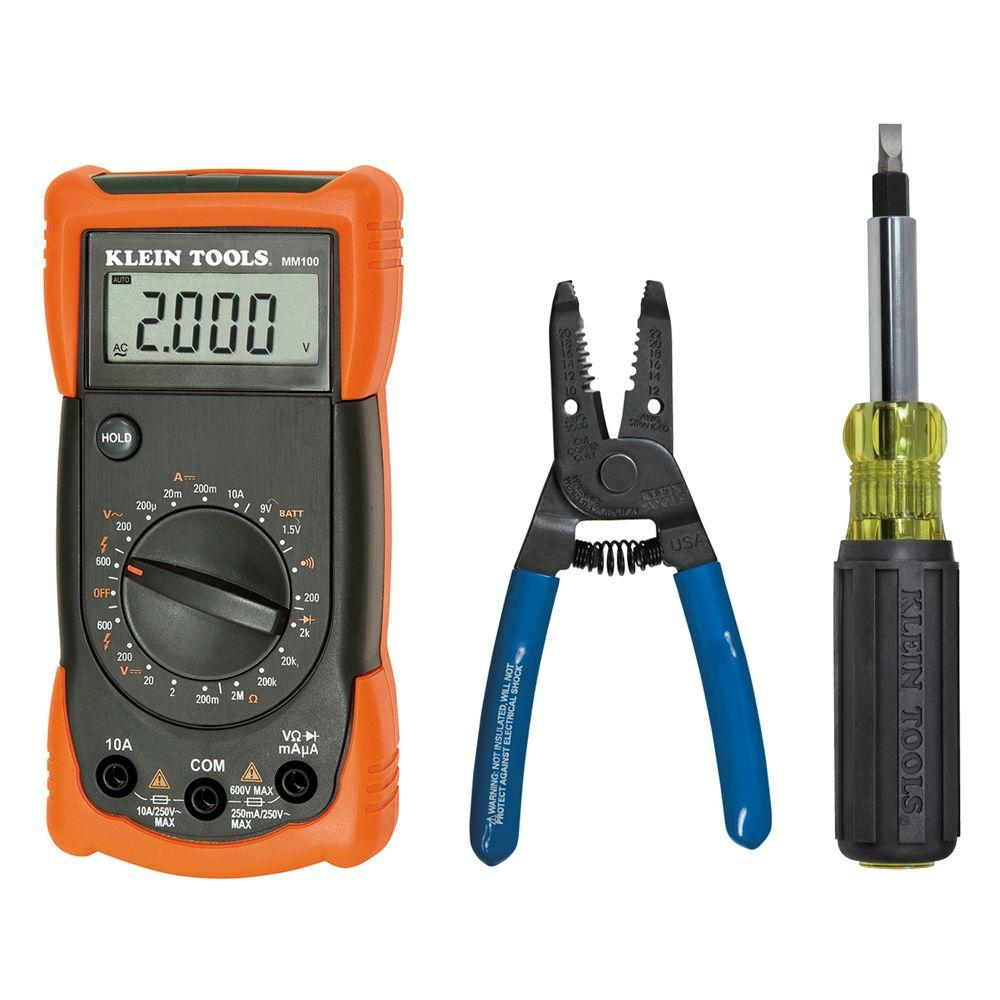 Klein Tools MM100 Electrician's Kit