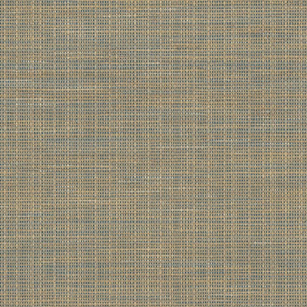 Grasscloth Wallpaper Samples: Chesapeake Kent Navy Faux Grasscloth Wallpaper Sample