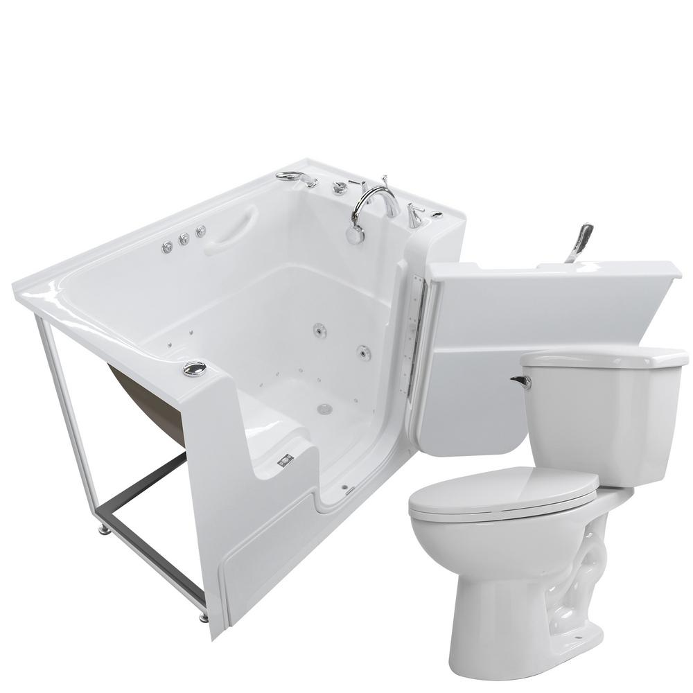 Universal Tubs Wheelchair Accessible 53 in. Walk-In Whirlpool and ...