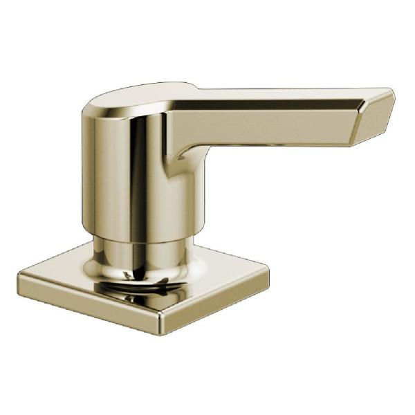 """Delta RP91950PN Pivotal 2 1/4"""" Deck Mounted Soap/Lotion Dispenser In Polished Nickel"""
