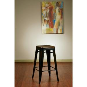 Bristow 26.25 in. Antique Copper Bar Stool (Set of 4)