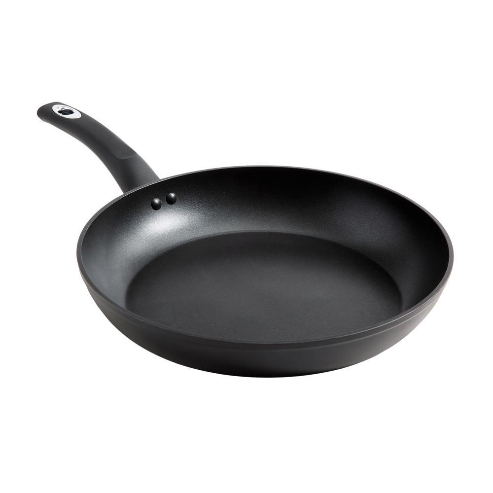 Oster Cuisine Allston 10 in. Black Frying Pan