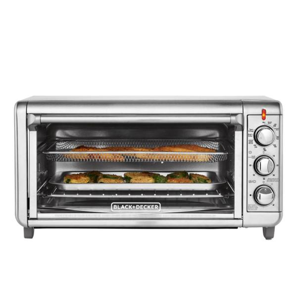 Stainless Steel Toaster Oven Air Fryer Decoration