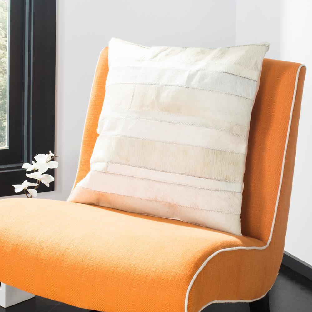Safavieh Perry Cowhide Standard Pillow PLS246A-2020