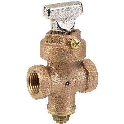 1 in. Ground Key Stop and Drain Valve