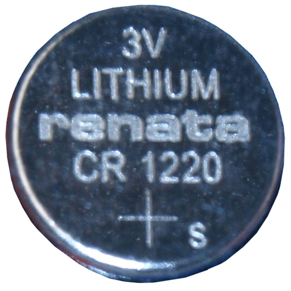 Renata Lithium CR1220 Coin Cell Battery (5-Pack)