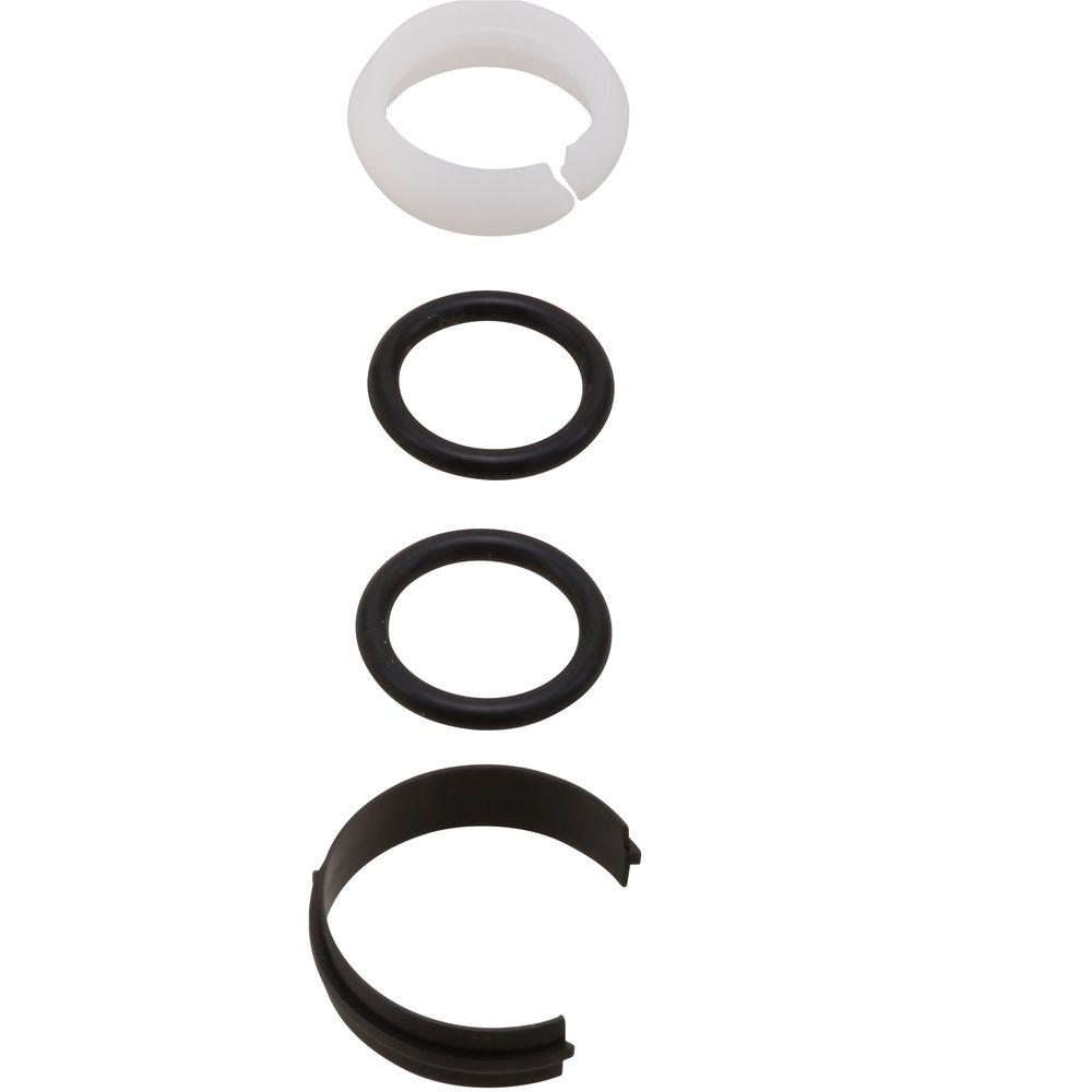 Delta 3 Piece O Ring Repair Kit Rp13938 The Home Depot Parts Diagram For Single Handle Kitchen Faucet Models 978 Bushings And Rings