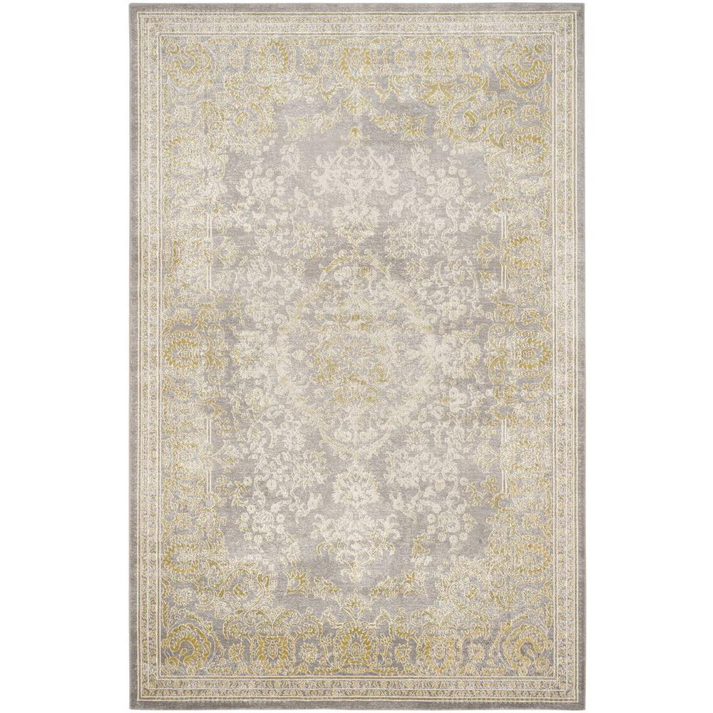 Safavieh Passion Gray Green 8 Ft X 11 Ft Area Rug Pas402d 8 The