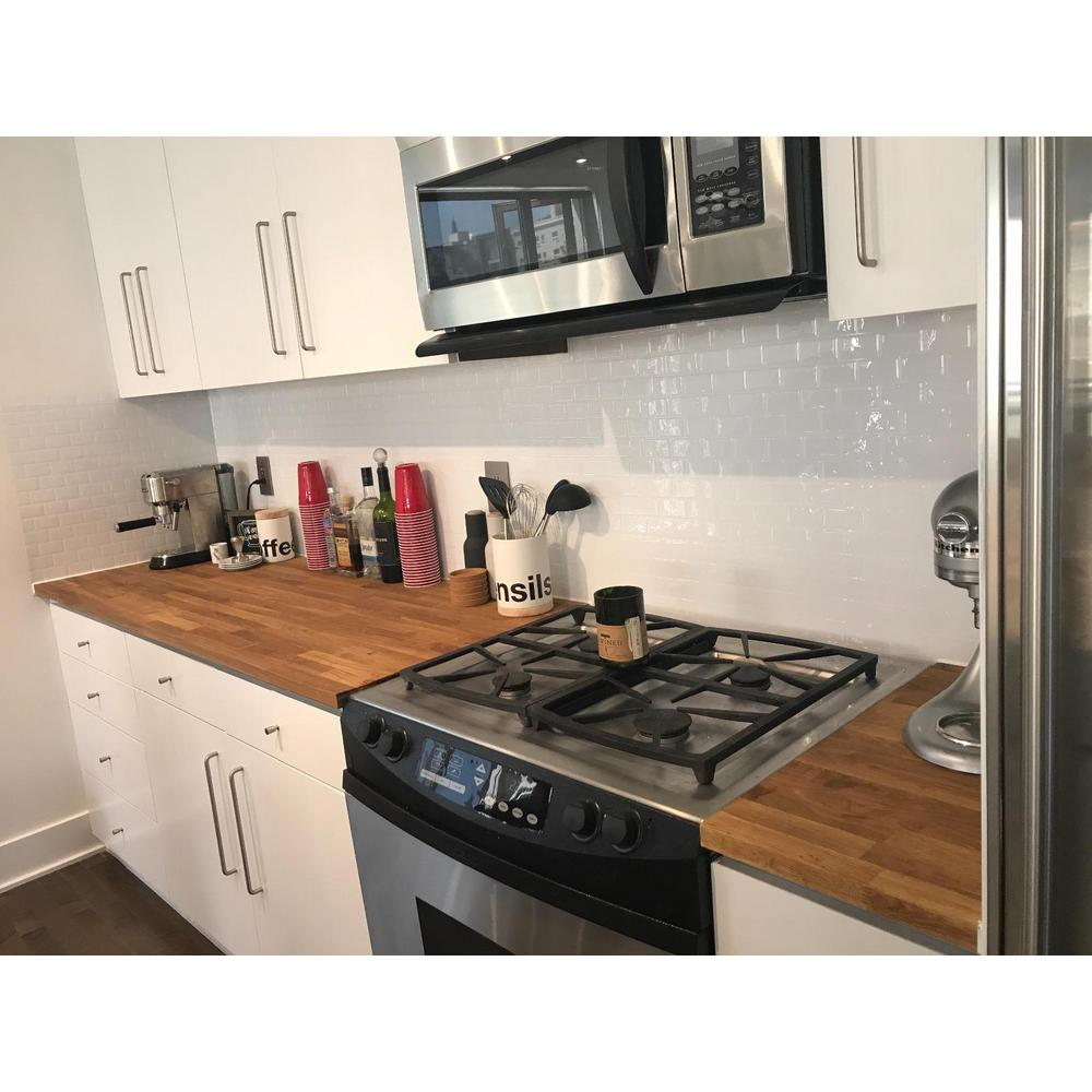 Elegant Peel And Stick Vinyl Backsplash Tile In Subway