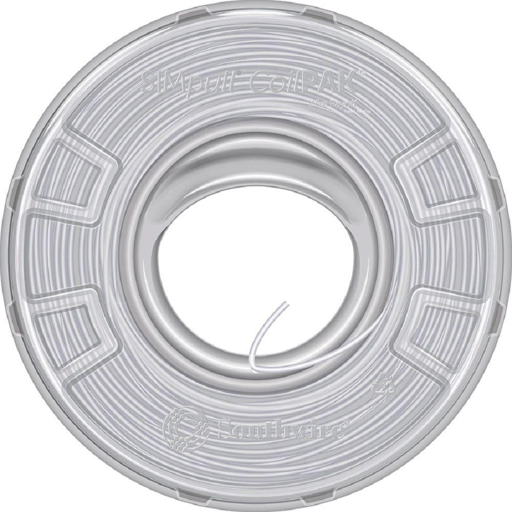 Southwire 250 ft. 18/2 White Stranded CU SPT-1 Lamp Wire-49909544 ...