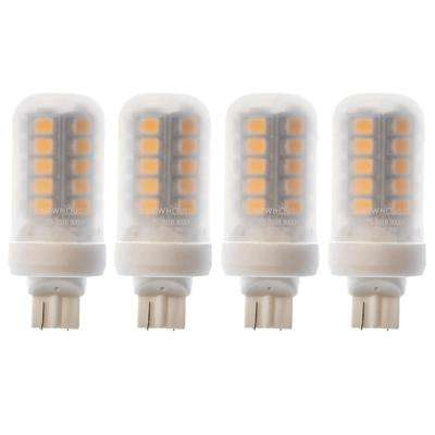 18-Watt Equivalent T5 LED Bulb Halogen Replacement Light, Warm White (4-Pack)