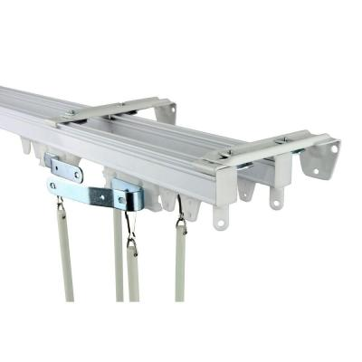 120 in. Commercial Wall/Ceiling Double Track Kit