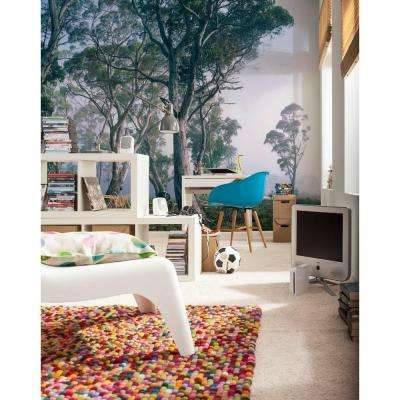 100 in. x 145 in. Fantasy Forest Wall Mural