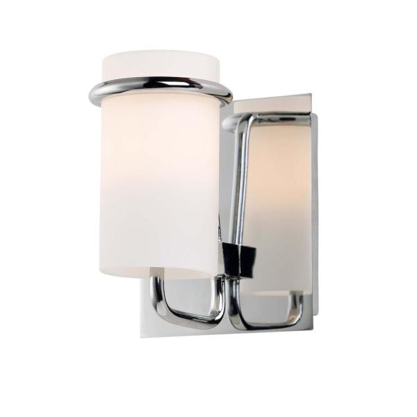 Avant 4.5 in. Wide Polished Chrome Sconce