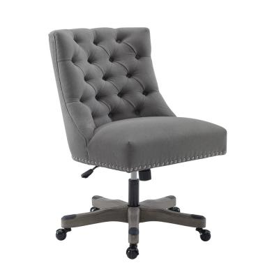 Des Light Gray Office Chair