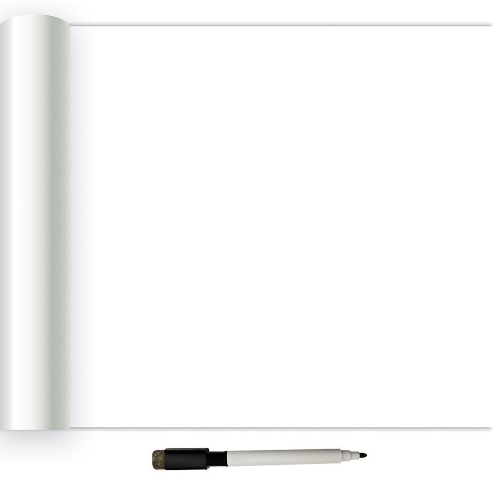 NuWallpaper 30.75 sq. ft. Dry Erase Peel and Stick Wallpaper