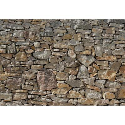 100 in. x 145 in. Stone Wall Mural