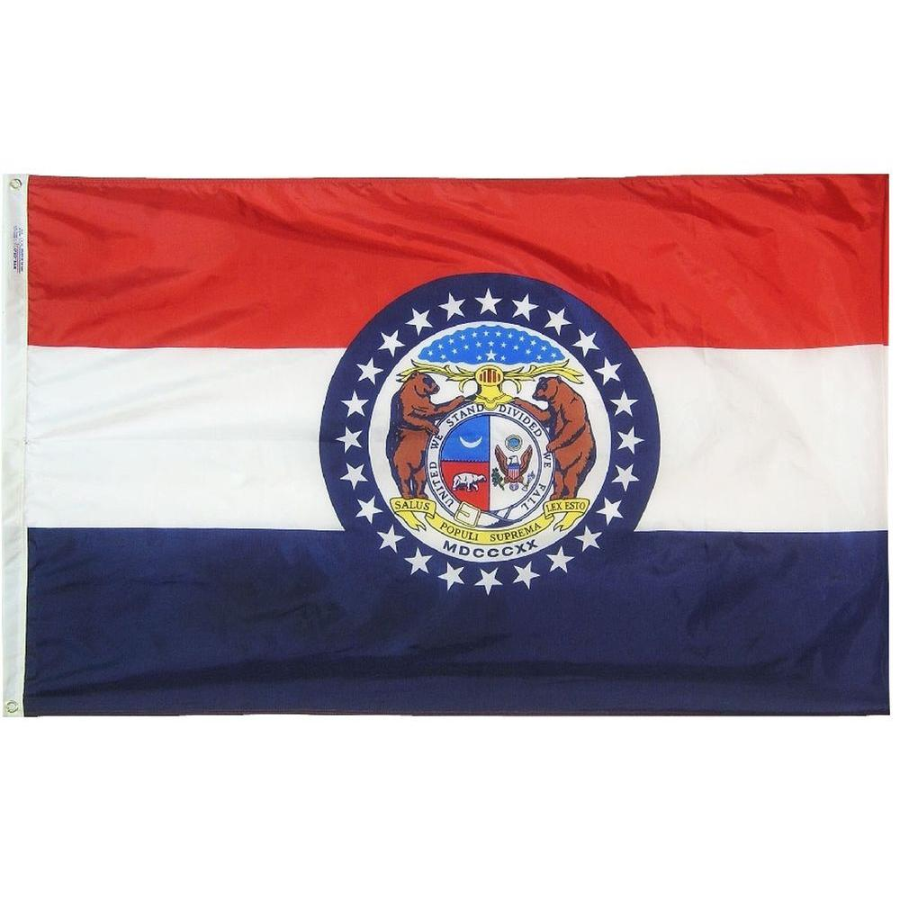 4 ft. x 6 ft. Missouri State Flag
