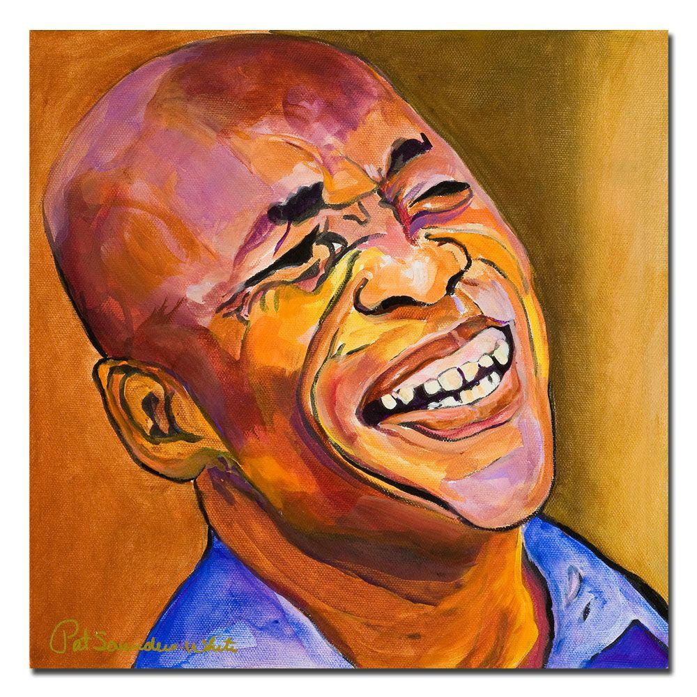 24 in. x 24 in. Jazz Man Canvas Art