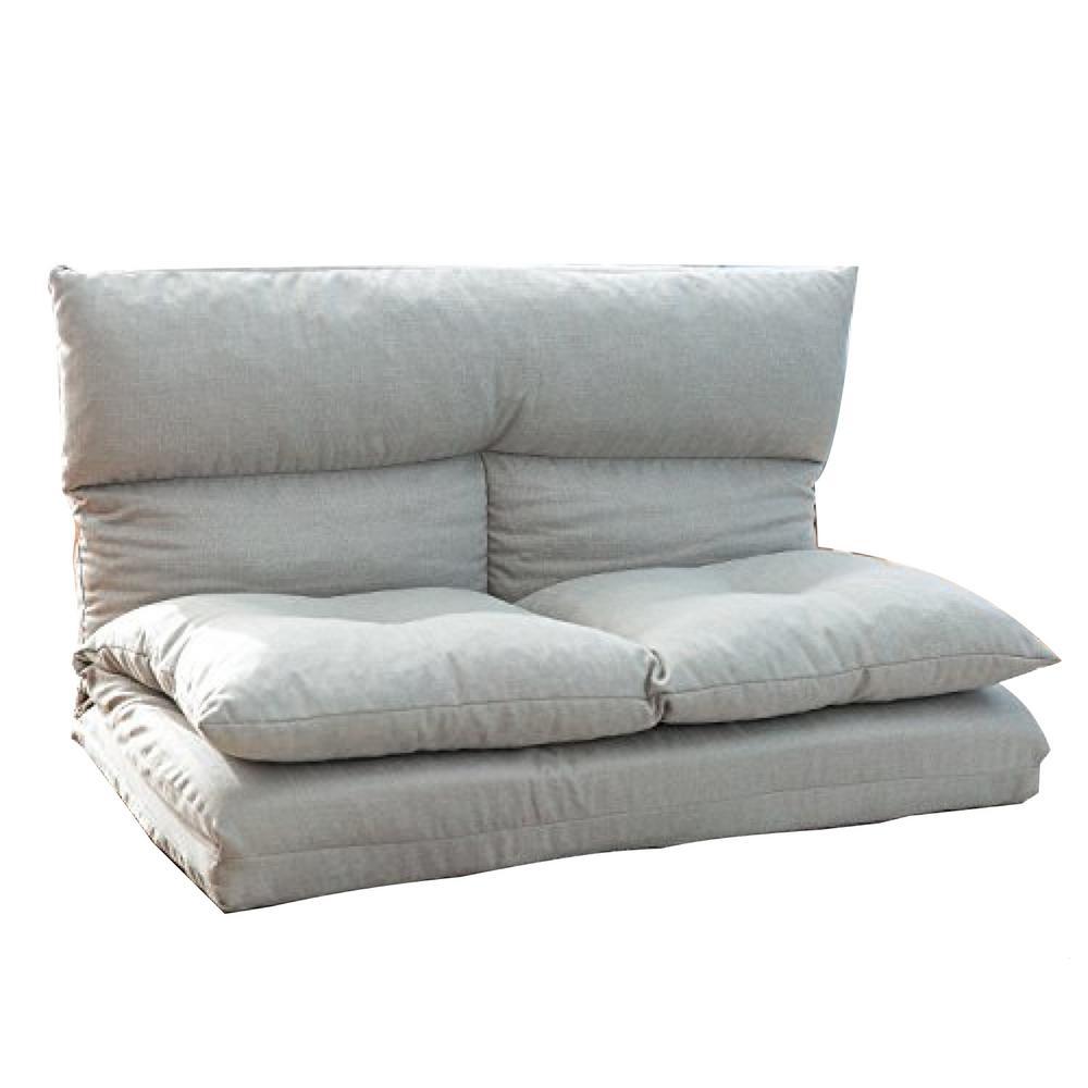 Fabric Futons Folding Sofa Chair Lounge