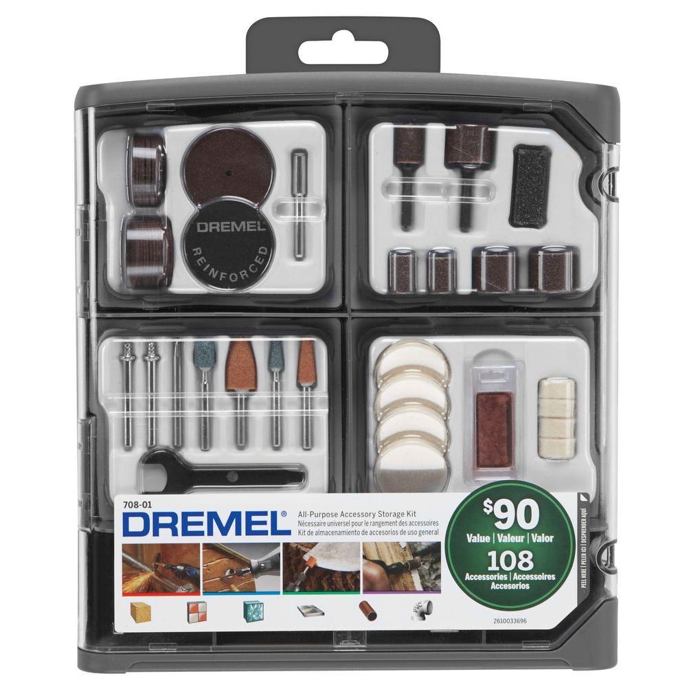 Dremel Rotary Tool All-Purpose Accessory Kit (108-Piece)