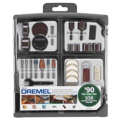 All-Purpose Rotary Tool Accessory Kit (108-Piece)